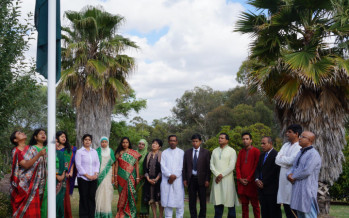 Celebration of the Victory Day 2015 at Bangladesh High Commission, Canberra