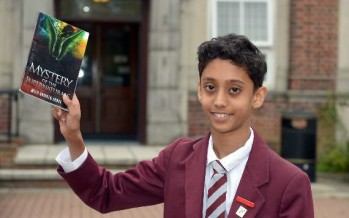 Bangladesh origin schoolboy battles evil supernaturals in his first novel – aged just 12