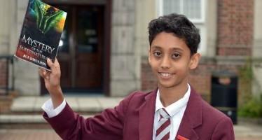 Bangladesh origin schoolboy battles evil supernaturals in his first novel – aged just 12