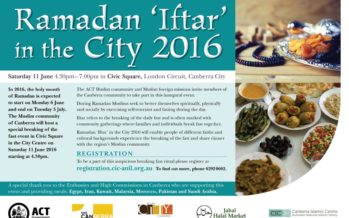 'Iftar' in the City