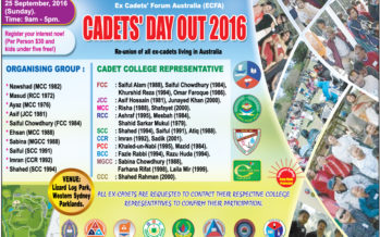 Cadets Day Out in Sydney