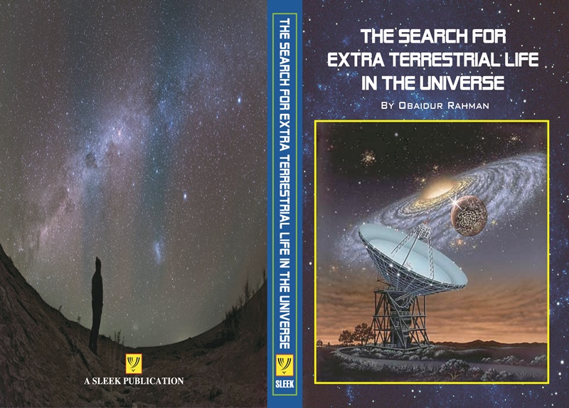 Book cover of The Search for Extra-Terrestrial Life in the Universe by Obaidur Rahman