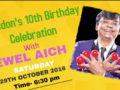 Spondon's 10th birthday celebration with Jewel Aich