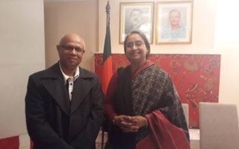 ক্যানবেরায় – সাংসদ ডা. দিপু মনির সাথে