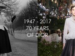'ক্রিস্টিয়ান ডিওর' এর ৭০ বছর