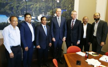 Meeting with Immigration & Border Protection minister and federal MP