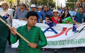 BASSA's Australia day celebration in Adelaide, South Australia
