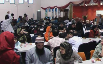 Iftar and dinner : provided by Bangladeshi Community at CIC on 29 August, Saturday