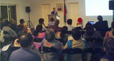 An Attractive  Educative Seminar on Cardiovascular Diseases by Dr. Moyazur Rahman