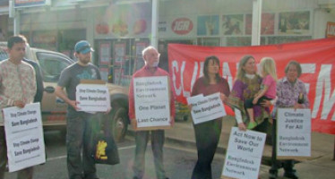 Rallies held in Australia to Stop Climate Change and Save Bangladesh
