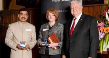 Bangladeshi Scholar Received ANU Vice Chancellor's Award 2010
