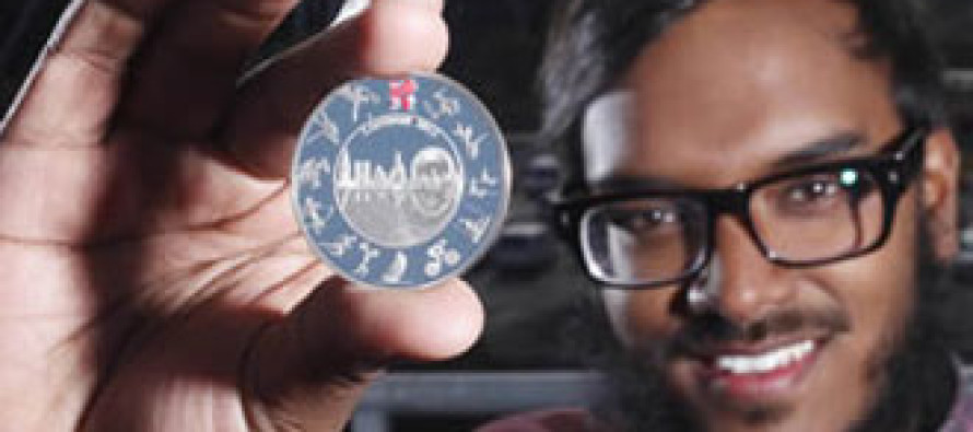 Bangladeshi designs London Olympic coin
