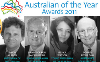 Australian of the Year Awards 2011 recipients announced