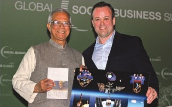 Expand social business with the help of IT, Prof Yunus tells Vienna Summit