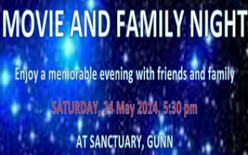 Movie and Family Night under the star with the community