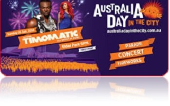 Australia Day Parade – 2014 in Adelaide