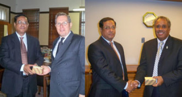 Press Release on Bangladesh High Commissioner's meetings with Dignitaries in Fiji.