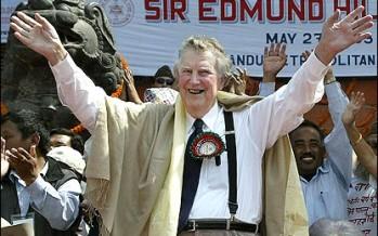 Sir Edmund Hillary dies :  Memories of Personal Encounter