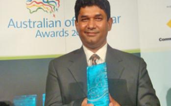Chowdhury Sadaruddin awarded the NT Local Hero 2009