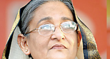 Is Sheikh Hasina harping on the same string?