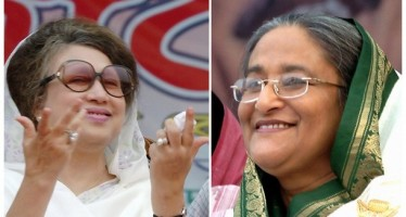 Why should Begum Khaleda and Sheikh Hasina talk to each other?