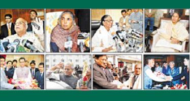 Sheikh Hasina's cabinet team